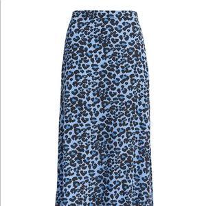 NWT Banana Republic Leopard Maxi Skirt